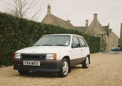Vauxhall Nova 1.3 SR - F64 WEG (E-R-F) Tags: nova 13 sr vauxhall f64weg