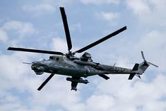 Mil Mi-24V (The Adventurous Eye) Tags: force czech action military air v presentation mil 2014 mi24 cihelna mi24v