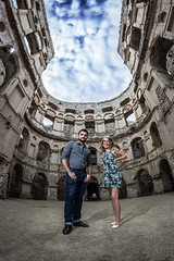 Macho (CarbonRock) Tags: portrait castle 8 fisheye mc if mm f35 aspherical samyang krzyztopor