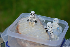 Lunch time (LynG67) Tags: lego stormtrooper minifigs yeti minifigures lochkinord
