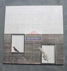 Bộ ốp tường giả gổ cửa sổ (30x60)