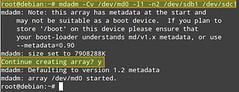 Set up RAID-1 Array (xmodulo) Tags: disk linux harddrive raid mirroring mdadm