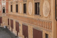 Piazza della Republica, San Miniato (jacqueline.poggi) Tags: italy italia tuscany toscana toscane affreschi fresco italie trompeloeil fresque sanminiato provinciadipisa