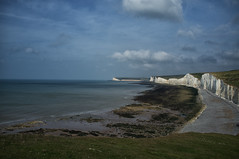 Seven Sisters from Birling Gap 2 (Nick_Rowland) Tags: beach sussex coast chalk cliffs eastbourne sevensisters birlinggap