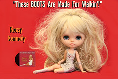 Blythe A Day ~ August 2014 ~ Day 27:  These BOOTS