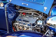4203 Big Block Chevy (Organized Chrome) Tags: auto car automobile paint automotive chrome restored hotrod customized modified custom sidney carshow streetrod 2014 prio showandshine beaconavenue torquemasters