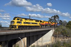 On ramp passover (highplains68) Tags: australia nsw newsouthwales ssr aus cowan northernline berowra coaltrain ca06 c503 southernshorthaulrailroad mainnorth