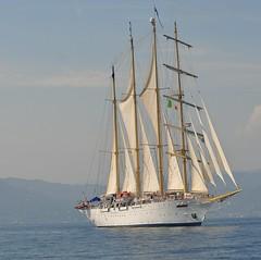 poesia... (andrea.zanaboni) Tags: sea italia mare sailing ship liguria nave poesia vela portofino sailingship libert veliero