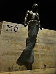 M (Bricheno) Tags: sunset sculpture espaa statue bronze island spain espanha mediterranean topless mao mermaid menorca spanien mahn ma spagna sirena portmahon spanje baleares mahon minorca  espanya m balears  illesbalears balearics hiszpania islasbaleares   bricheno