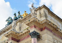 Arc de Triomphe du Carrousel (jpellgen) Tags: city travel summer paris france architecture french nikon europe european arch arc august napoleon tamron arcdetriomphe carrousel triumphal 2014 18200mm d5100