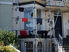 Scaffold Washing (Munki Munki) Tags: scaffolding whitby washing washingday nyorks washingpoles