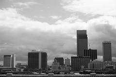 BnW cityscape (Bradley Simonsen) Tags: blackandwhite skyline nebraska cityscape omaha bnw