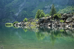 Lac de Lauvitel (Ruddy Cors) Tags: mountain lake montagne alpes landscape nikon lac paysage reflets reflects d300s
