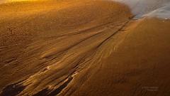 Scars of the time (Orpinbleu) Tags: sunset sea sun sand flickr sable soir soleilcouchant appleipad orpinbleu lescicatricesdutempsparorpinbleu scarsofthetimebyorpinbleu emilienneparrotbousquet orpinbleuflickrcom