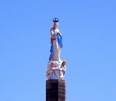DSCN0295 - Monumento  N. Sra. da Conceio - Rio de Janeiro - Brasil (Marcia Rosa ()) Tags: santa brazil monument brasil riodejaneiro catholic rj monumento hill catholicism gamboa morro conceio catlico catolicismo zonaporturia marciarosa