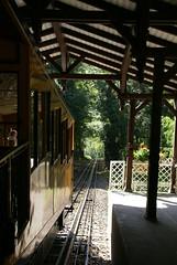 Wiesbaden, Nerobergbahn, Bergstation (Neroberg funicular railway, upper station) (HEN-Magonza) Tags: wiesbaden hessen hesse deutschland germany nerobergbahn funicularrailway neroberg
