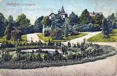 KAE: Knittelfeld, parkpartie | 1911 (Brigitte Rieser) Tags: park vintage garden postcard jardin historic parc garten postkarte historique historisch cartepostale ansichtskarte