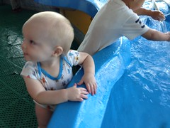 "Enjoying the Water at DuPage Children's Museum • <a style=""font-size:0.8em;"" href=""http://www.flickr.com/photos/109120354@N07/15312121321/"" target=""_blank"">View on Flickr</a>"
