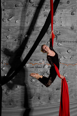 Silks - Karro 16 (ArdieBeaPhotography) Tags: girls red boys club children ribbons circus performers silks