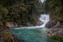 Kleiner Wasserfall am Walchensee