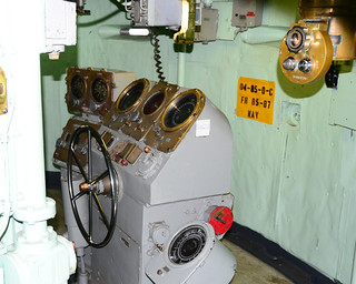 Inside Armored Conning Tower