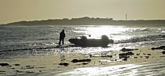 Ready to launch (Halfbike) Tags: alnmouth beachwalking seaside lumixgh4