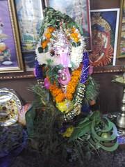 20140829_134756 (bhagwathi hariharan) Tags: ganpati ganpathi lordganesha god nallasopara nalasopara pooja idols