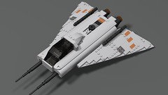 I-7 Howlrunner (ShadowMX5) Tags: star wars starfighter howlrunner i7 incom ship space