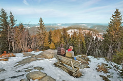 Relaxing in the Black Forest (Yvo Kaptein) Tags: schwarzwald blackforest winter view snow feldberg hiking relaxing germany deutschland
