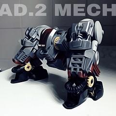 R&D AD.2 Mech - Power Legs (Marco Marozzi) Tags: lego legodesign legomech mech moc marco marozzi walker robot afol