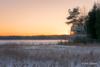 Villa Elfvik Sunset (Joni Salama) Tags: rayapro exposureblending auringonlasku laajalahti talvi villaelfvik photoshop espoo suomi valo esbo uusimaa finland fi sunset winter light yellow