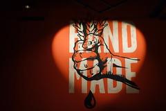 Hand made (Pascal Volk) Tags: berlin mitte berlinmitte alexanderplatz karlliebknechtstrase markthallealexanderplatz lemkeberlin brauhausamalex graffiti urbanart sonydscrx100