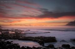 Magical Sunset (gjaviergutierrezb) Tags: sunset sea silk sky sol playa cielo mar red rojo océano sun puestadesol
