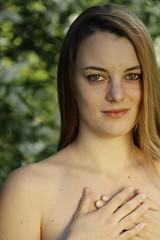 Natural Beauty VI (Paolo Dallavalle) Tags: ragazza girl portrait ritratto nature natura canon eos nudo implicito beauty red head capelli rossi primavera spring skin pelle clear chiara young giovane parco park decolletè
