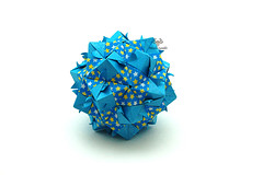 No Name (Akizhi) Tags: origami modular kusudama paper art craft folding papercraft