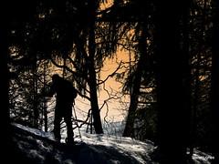 Snowshoe Pt Bourgoise (73) (Carl and Sian) Tags: carlandsian alps avoriaz alpine sian snow snowshoeing frenchalps france mtblanc freshtracks portesdusoleil powder