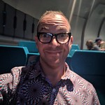 Omnimover selfie, Spaceship Earth, Epcot, Walt Disney World, Orlando, Florida, USA thumbnail