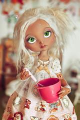 ☆ Vintage Cooking ☆ (Shimiro Kestrel) Tags: bjd doll cerisesdolls cerisedollspoulpy lillycat lillycatpoulpy cute kawaii pastel vintage bjdphotography bjdportrait bjdcustom dollphotography dolls balljointeddoll poulpy lolita citrouillesucrée