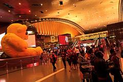 Doha Airport 1 (David OMalley) Tags: qatar doha airport hamad international