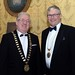 Joe Dolan, IHF President and Michael Lennon, IHF Vice President