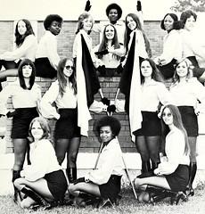Majorettes (~ Lone Wadi ~) Tags: majorettes uniforms portrait interracial retro 1970s