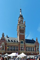 Duinkerke Frankrijk (13) Stadhuis (Johnny Cooman) Tags: dunkerque nordpasdecalaispicardie frankrijk fra nordpasdecalais panasonicdmcfz200 aaa architectuur architecture france cloudscapes wolk wolken wolkformatie wolkformaties nuages vertorama