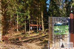 Einstieg zum Trauntal-Höhenweg und zur Börfinker Ochsentour
