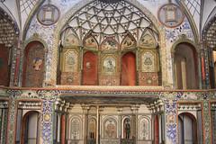 Borujerdi Historical House (Wild Chroma) Tags: borujerdi historical house kashan iran interior paintings