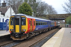 East Midlands Trains Meridian Express Sprinter 158773 & Sprinter 156414 (Will Swain) Tags: widnes station 12th march 2017 north west town train trains rail railway railways transport travel uk britain vehicle vehicles country england english halton cheshire east midlands meridian express sprinter 158773 156414 class 156 158 414 773 emt stagecoach group