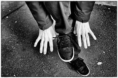 The Art Of Tying Shoelaces (Armin Fuchs) Tags: arminfuchs hands shoes shoelaces thomaslistl