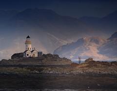 Knoyed Art (BoboftheGlen) Tags: skye lighthouse knoydart hill sun mountain sound sleat masterpiece