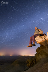 head in the stars (Israel Nature Photography by Ary) Tags: canon israel nature stars night milkyway desert 6d tokina 1116mm mount negev