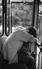 Smena Symbol - Tired (Kojotisko) Tags: street city people bw streets vintage person czech streetphotography brno cc creativecommons vintagecamera czechrepublic streetphoto persons smena smenasymbol смена fomapan400 fomapan400action сменасимвол pregamewinner