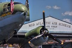 Air Museum (Deb Felmey) Tags: reading airplanes worldwarii planes fighting reenactors maam midatlanticairmuseum